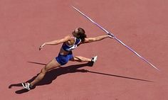 Britain's Jessica Ennis-Hill competes in the javelin throw of the women's heptathlon