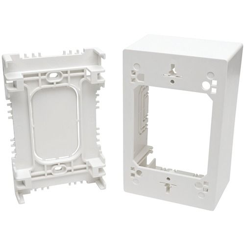 Tripp Lite Single-gang Surface-mount Junction Box Wall Plate