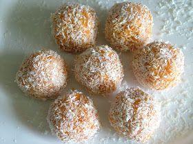 Składniki: 2 marchewki (200g) kasza jaglana sucha (50g) wiórki kokosowe (50g) 1 cukier waniliowy (15g) 1 łyżeczka cynamo...