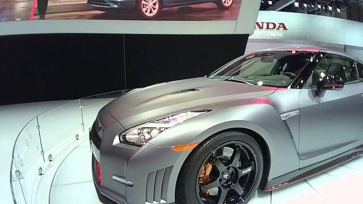 2015 Nissan GTR Nismo Edition MATTE GREY Live! LOOXCIE HD CAMERA! #LOOXCIE3 #NISSAN #GTR #2015 #NISMO #LAAUTOSHOW