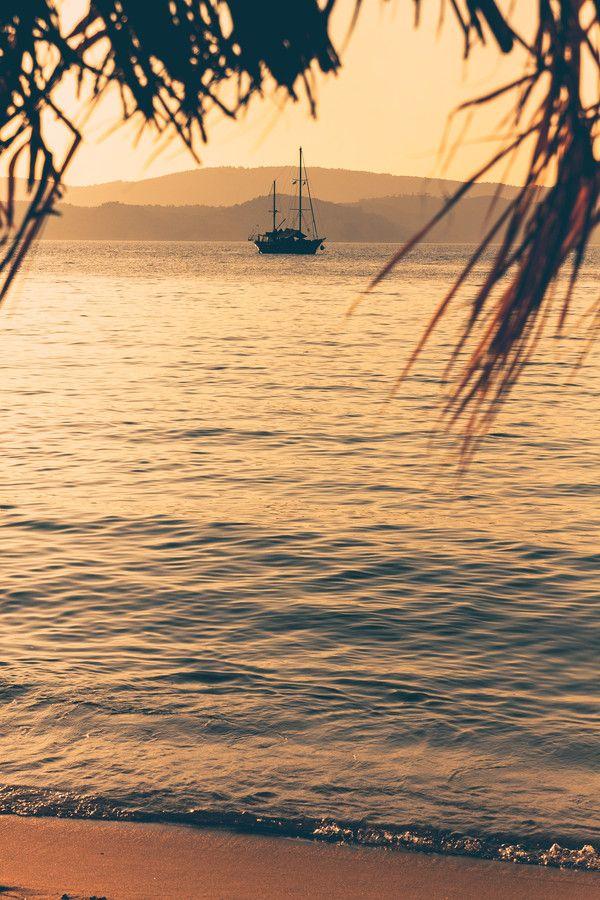 Mandraki Beach, Skiathos, Greece