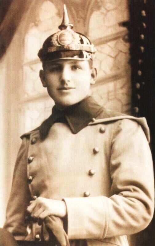 Juan Domingo Perón as a teenager attended a military academy.