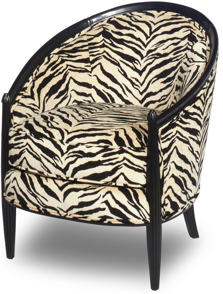 Check Out This Safari Chair By Craftmaster! Zebra Stripes Never Get Old!  Stop By