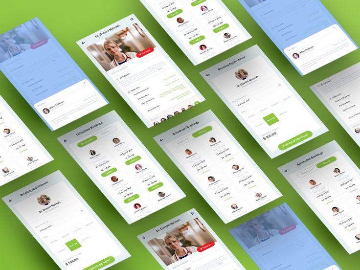 Doctor  Profile App Design