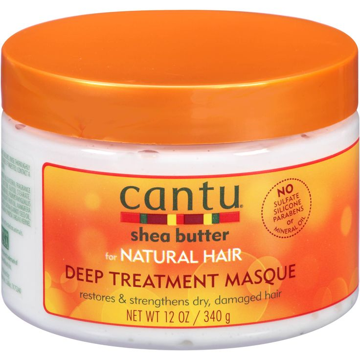Cantu Shea Butter For Natural Hair Deep Treatment Masque, 12 oz