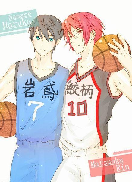 Free! / Kuroko no Basket ~~ Haru & Rin cosplaying: