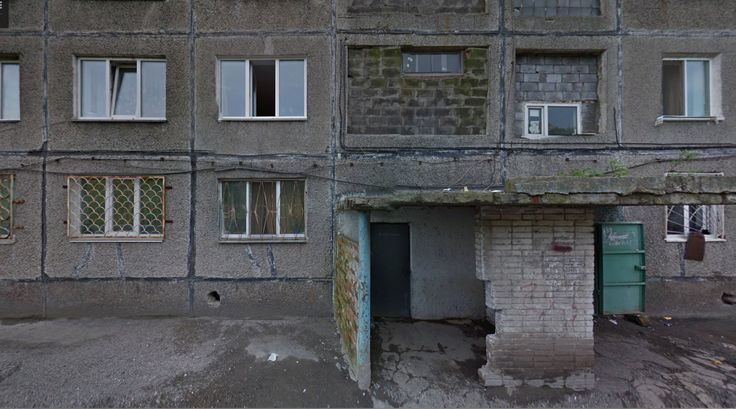 Housing - #architecture #googlestreetview #googlemaps #googlestreet #russia #vladivostok #brutalism #modernism