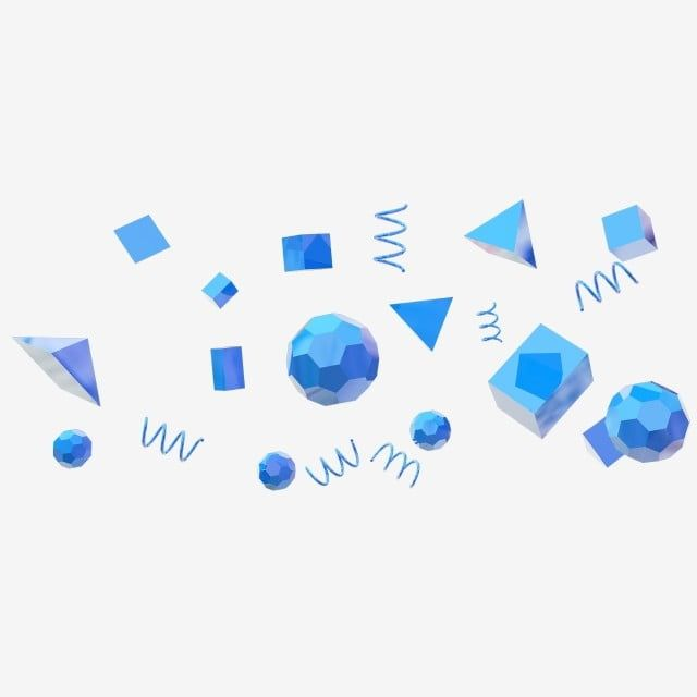 Blue 3d Polygon Spherical Suspended Particles 3d Blue Suspended Particles Float Png Transparent Clipart Image And Psd File For Free Download 3d Polygon Clip Art Cartoon Clip Art