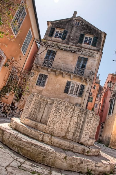 Corfu, Kerkyra, Greece. More about Corfu town at http://corfu2travel.com/en/corfu-town.asp  #greece #island #holidays #scenery #architecture #corfutown #greekholidays