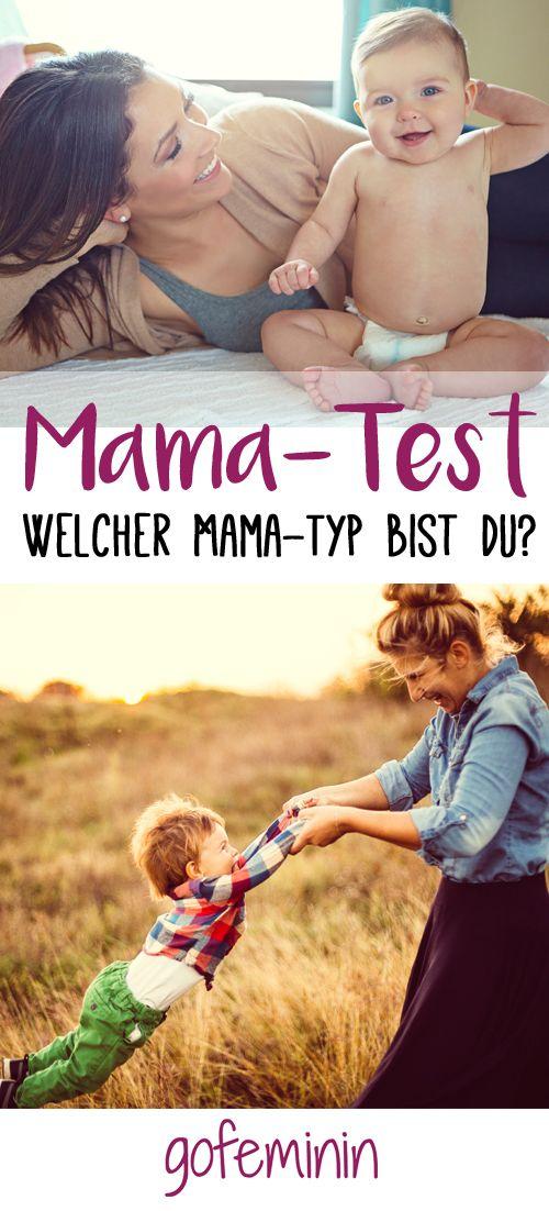 Welcher Typ Mama bist du?