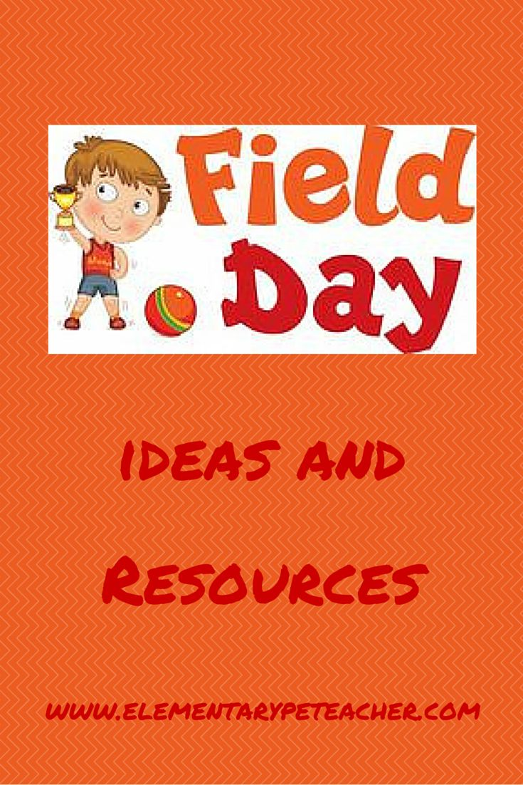 Use these field day ideas and resource pages to help throw your best field day ever!! #physed #fieldday