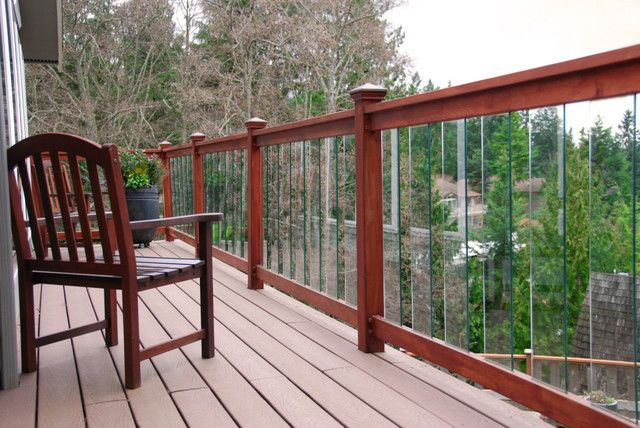 Glass Baluster Railing Design