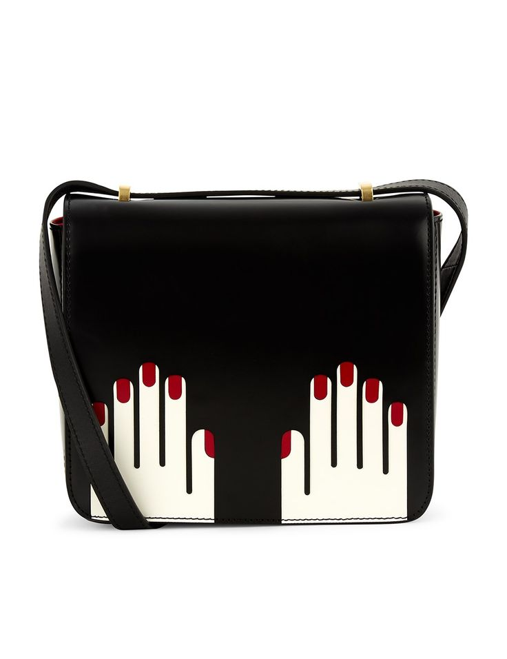 White Leather Marcie Hands Bag | Lulu Guinness | Avenue32