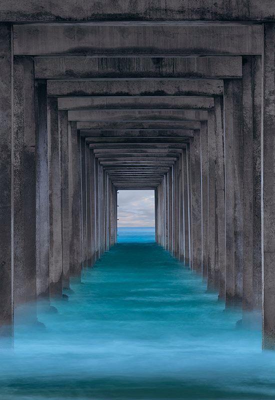 Scripps Pier, La Jolla, CA - Peter Lik