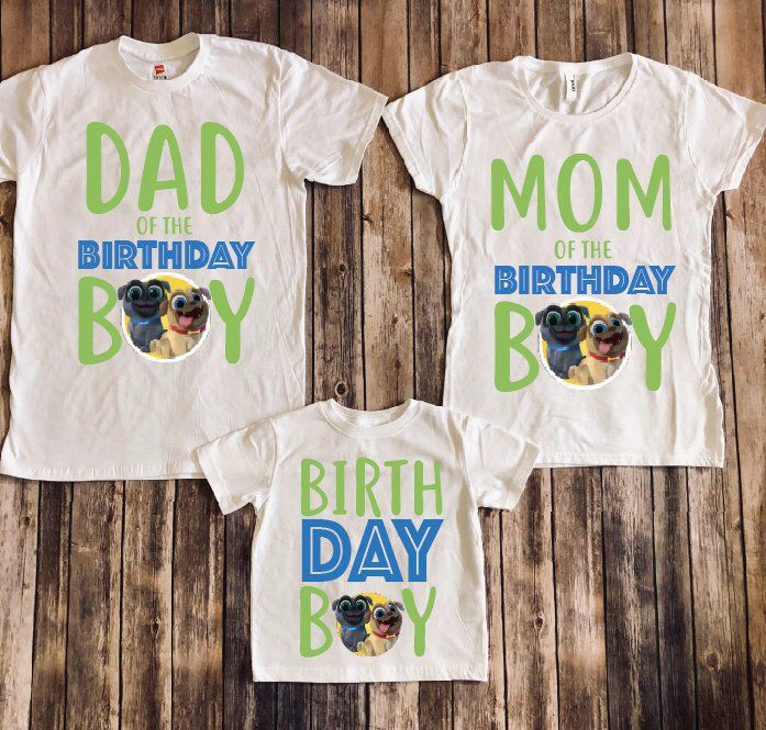 If We Can Make These Shirts But Do A Dog Paw Print For The O In Boy Puppy Birthday Parties Puppy Birthday Dog Birthday Party