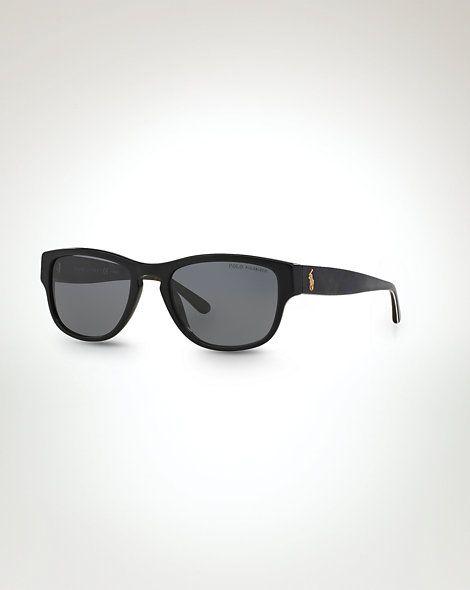 Sonnenbrille mit Tartanmuster - Sonnenbrillen Herren - Ralph Lauren Deutschland