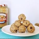 peanut butter chocolate chip no bake balls - allison