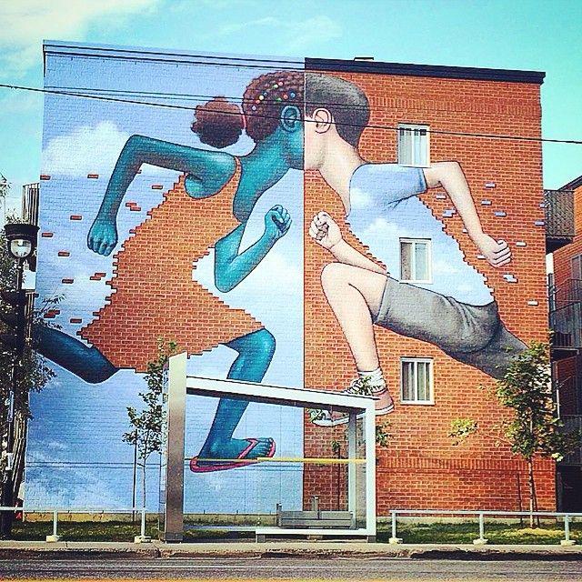 Instagram media by laurentoffthewall - #streetart #artist #seth#stencil #pencil #painting #graff#spray #sprayart #urban #urbanart #art#graphic #city #montreal#canada#color#visual#instagood #instaart #instagraff #instastreet #beautiful #roadtrip #travel #wall #wallart