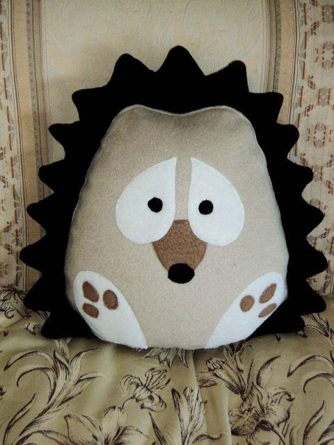 Zookdesign - Süni-párna , Baba-mama-gyerek, Játék, Gyerekszoba, Plüssállat, rongyjáték, #hedgehog #pillow #kids