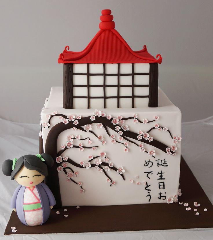 Japanese theme cake :)
