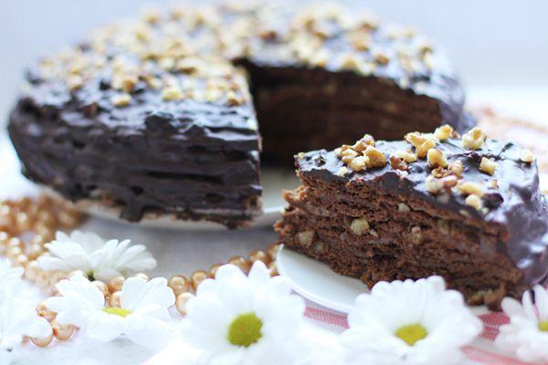 """Шоколадный торт """"Вкус детства"""". Обсуждение на LiveInternet - Российский Сервис Онлайн-Дневников"""