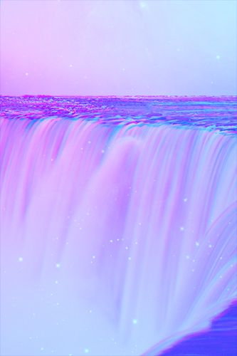 Waterfalls ghdpastels iridescent glitter glow purple aesthetic lavender aesthetic purple - Lavender purple wallpaper ...