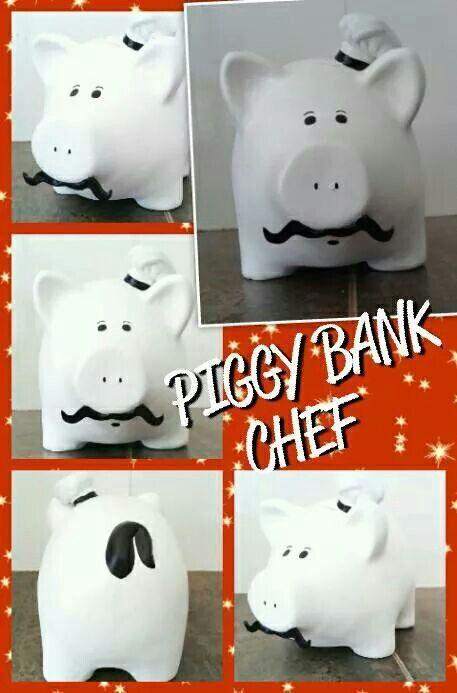 Piggy chef!