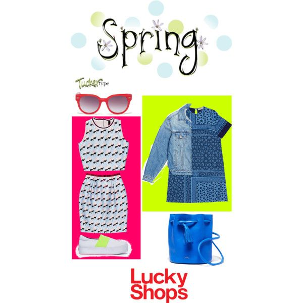 Spring Style by sindypost on Polyvore featuring Preen, Mother, Opening Ceremony, contestentry and luckyshops