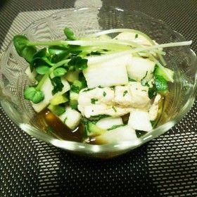 鶏のささみと山芋のたたき(とりわさ) by masakiMAX 【クックパッド】 簡単おいしいみんなのレシピが277万品