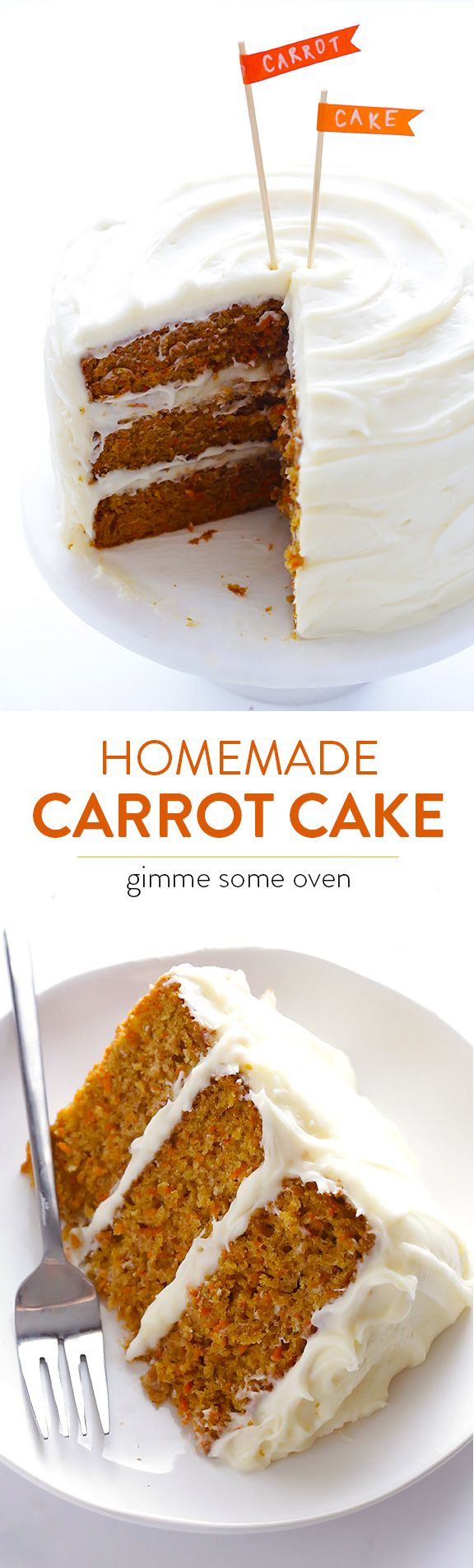 Carrot Cake Without Frosting Recipe Dark Brown Sugar