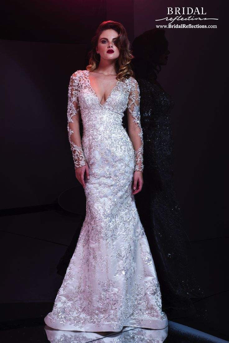 - Sleeves Only - View our Stephen Yearick collection of wedding dresses and bridal gowns available at our New York bridal salons.