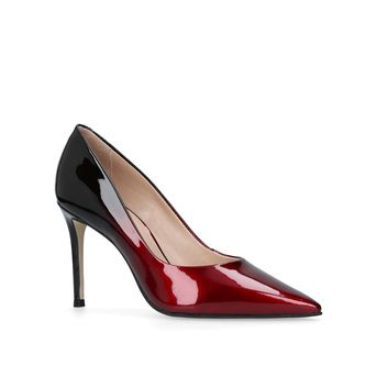 Alison Wine Mid Heel Court Shoes from Carvela Kurt Geiger
