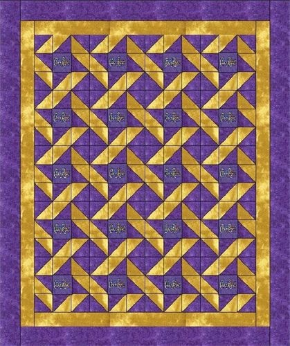 Friendship Quilt - two colors