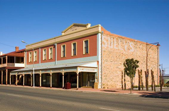 Broken Hill Regional Art Gallery   Broken Hill City Council. Formerly 'Sully's' store.