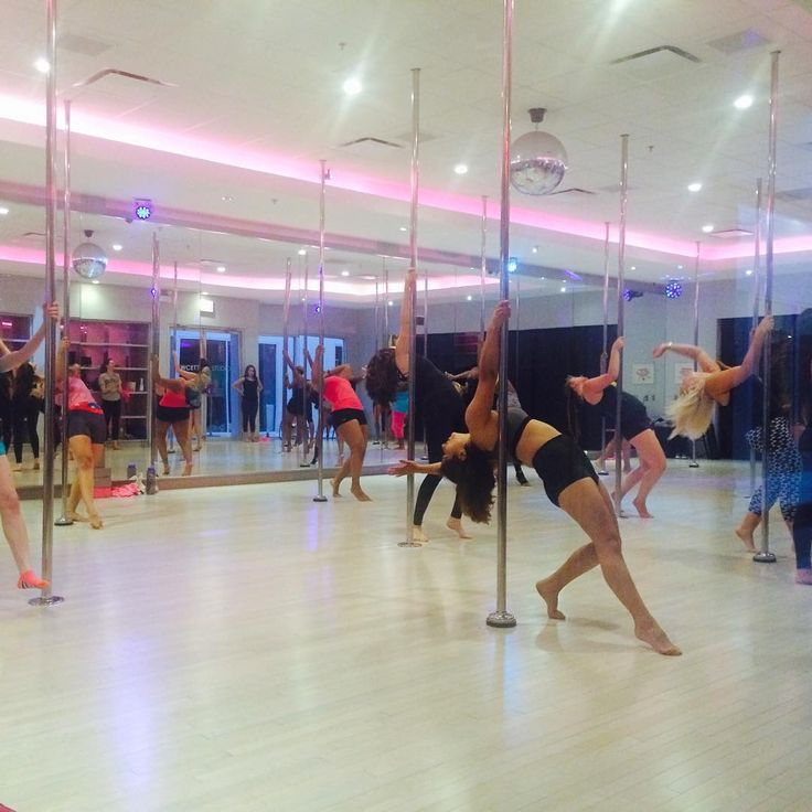 Pole Dance with us at Flirty Girl Fitness Chicago!