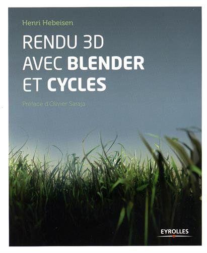 Le moteur de rendu Cycles est intégré par défaut dans le logiciel libre de modélisation Blender. Cet ouvrage présente, à l'aide de tutoriels pratiques, des méthodes de création de matériaux réalistes, d'éclairage avancé et de finalisation des rendus. Avec des fichiers disponibles en ligne.