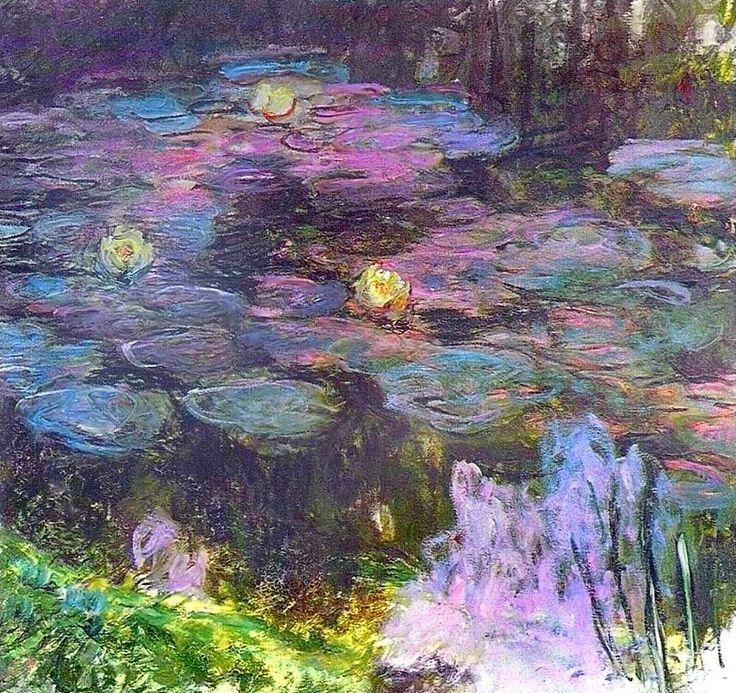 1914-17Claude Monet Nympheas
