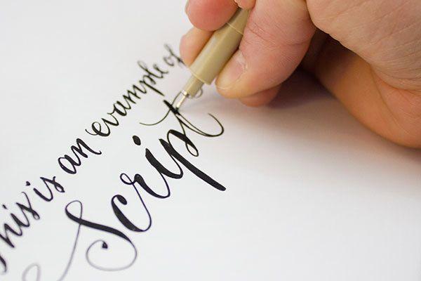 Envelope Address Hand Lettering Tutorial From Ladyfingers