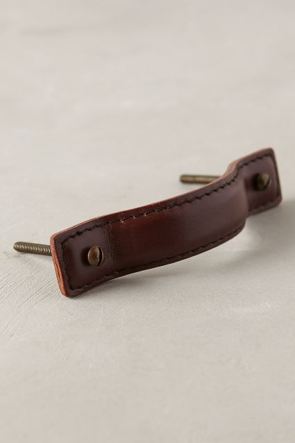 Saddle Stitch Handle - anthropologie.com