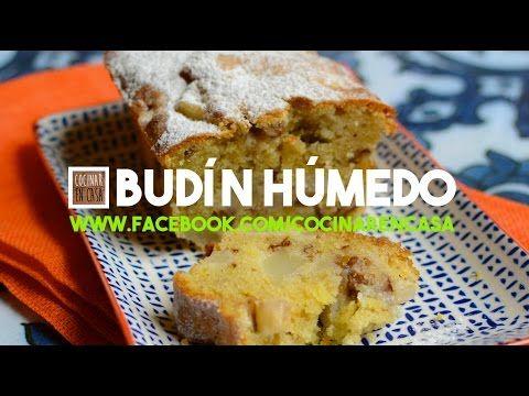 Budín Húmedo de Peras y Jengibre | Video receta fácil de preparar para cocinar en casa todos los días