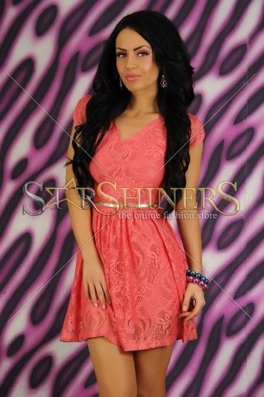 Rochie LaDonna Lovely Story Coral
