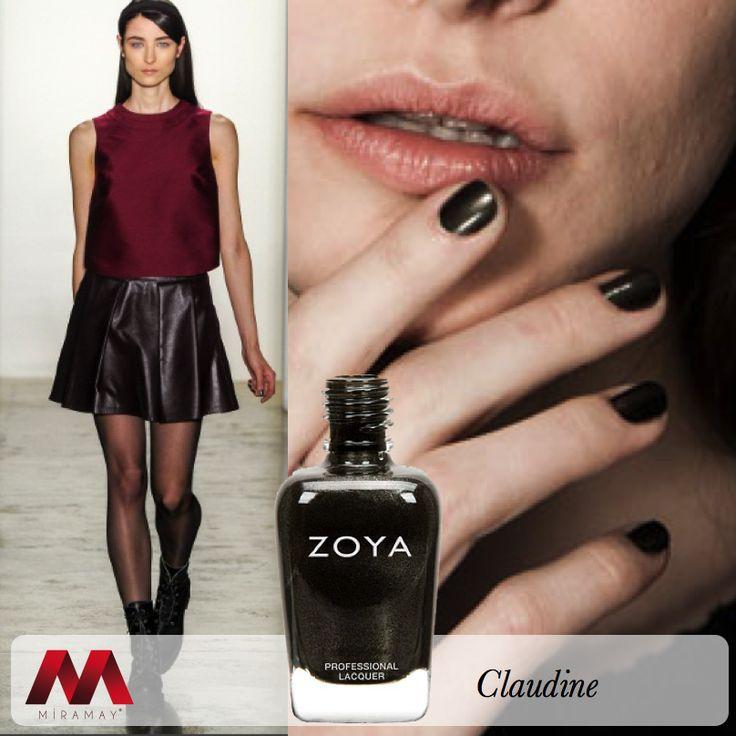 NYFW 2014'de büyüleyici bir defileye imza atan ünlü modacı Timo Weiland'ın birbirinden şık kreasyonlarında Zoya Claudine tercih edildi.