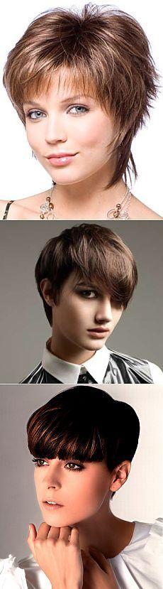 Короткие стрижки фото, сборка - более 50 примеров | Женские прически и стрижки, уход за волосами, красота и мода