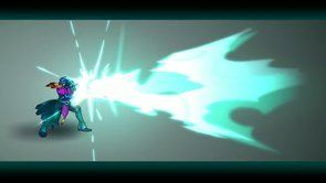 Magic Attack Animation. Magic attack animation done using Flash CS 5.5. I did animations and fx. Character was draw by http://skyside.devian...