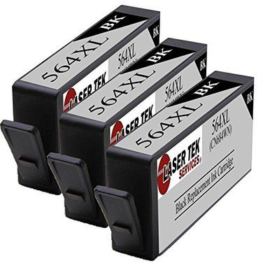 3 Pack Black Compatible Ink Cartridge Replacements for HP CN684WN