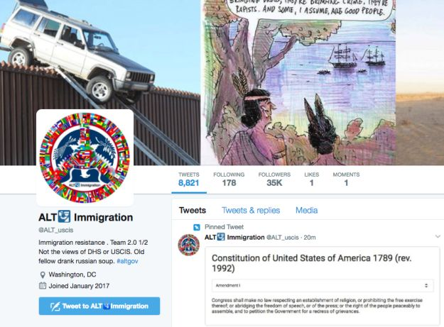 Twitter Sues Feds Over Attempt To Reveal Identity Behind @ALT_USCIS Account