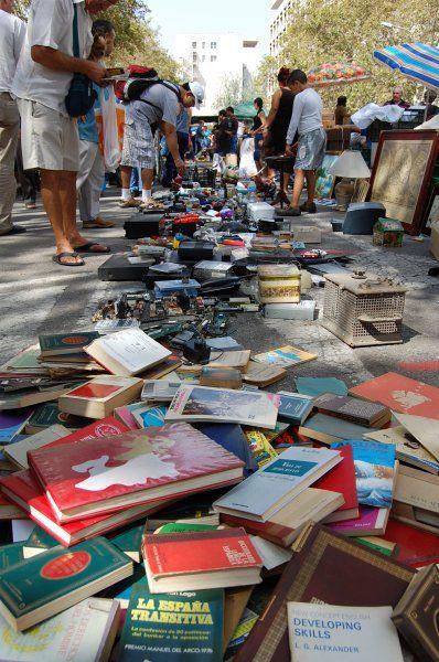 Блошиный рынок. Валенсия (Испания)