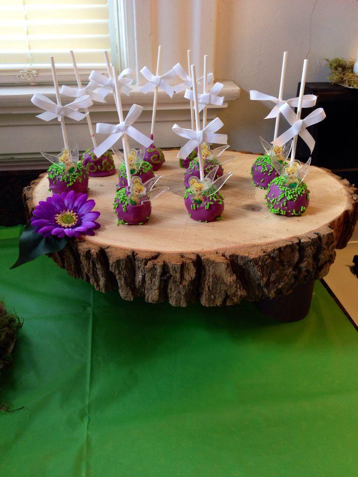 Tinkerbell Cake Pops Cake Pops Pinterest Tinkerbell