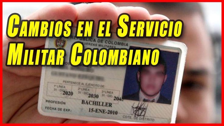 Cambios en la Libreta Militar Colombia 2017