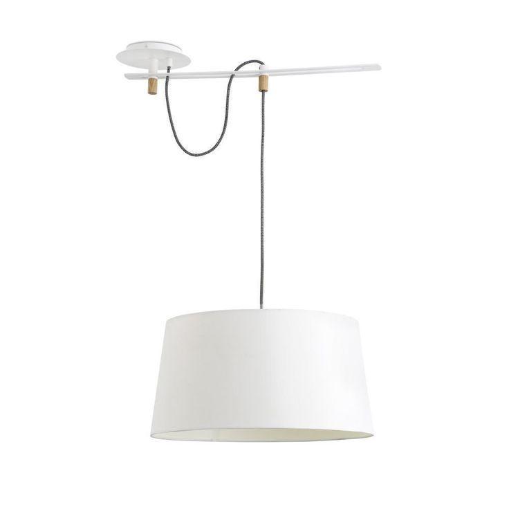 Faro 28394 - FUSTA Lampada sospensione bianca: Amazon.it: Illuminazione